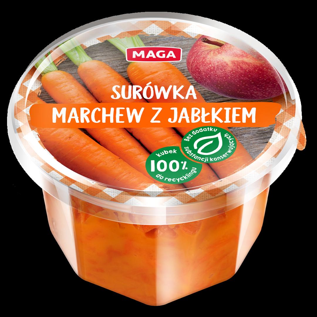 Surówka marchew z jabłkiem