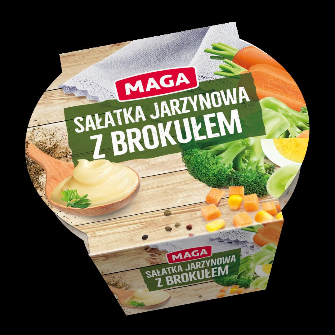 Sałatka jarzynowa z brokułem