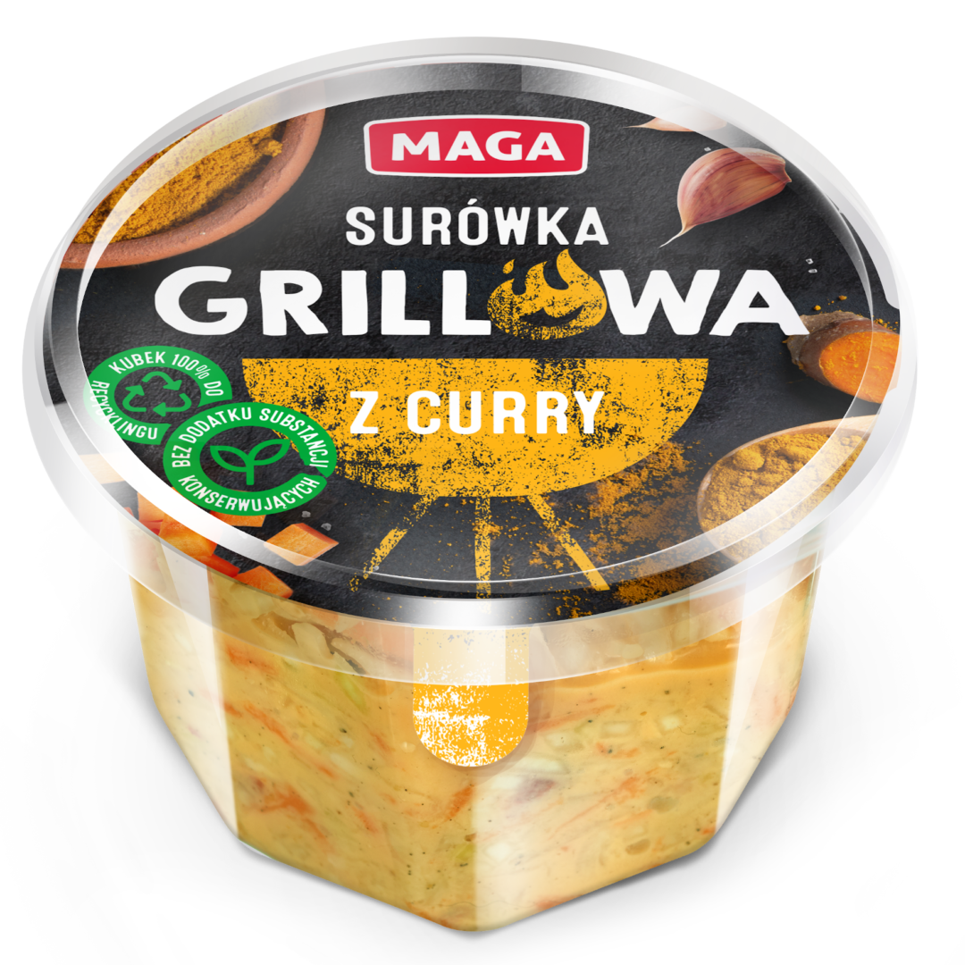 Surówka grillowa z curry