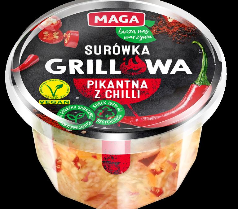Surówka grillowa pikantna z chilli