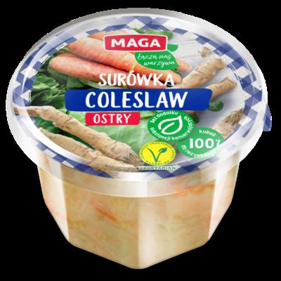 Surówka coleslaw ostry